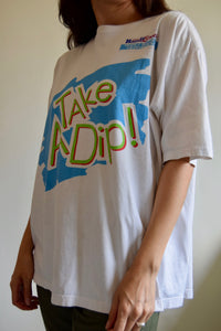 "Vintage Kraft Peanut Butter ""Take A Dip"" T-Shirt FREE SHIPPING TO THE U.S."