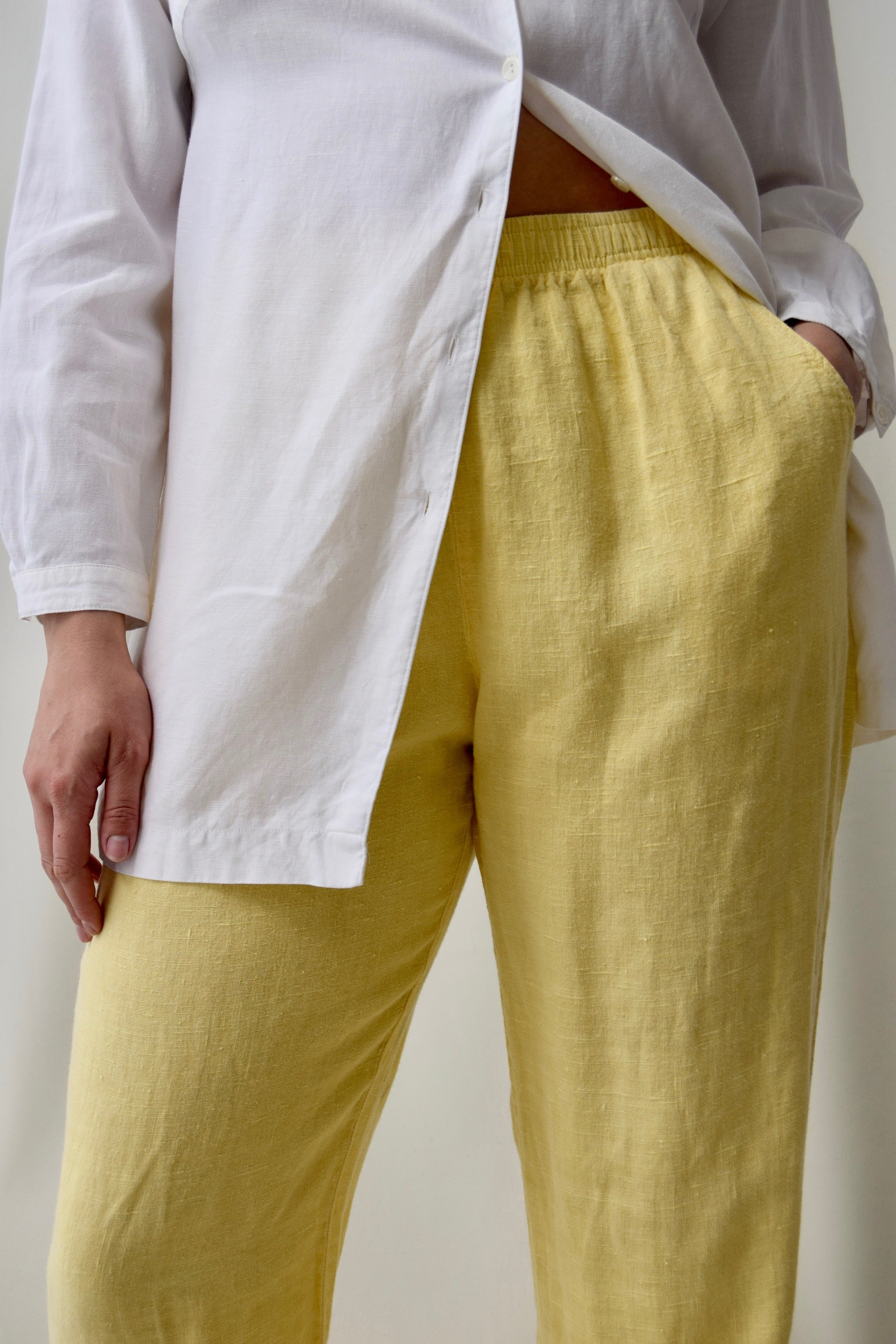 Buttercup Linen Fancy Loungewear Trousers
