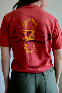 Vintage Suzuki Motorcycle Tee FREE SHIPPING TO THE U.S.