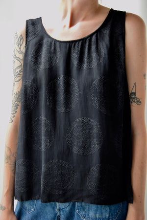 Silk Matte Black Dragon Tank