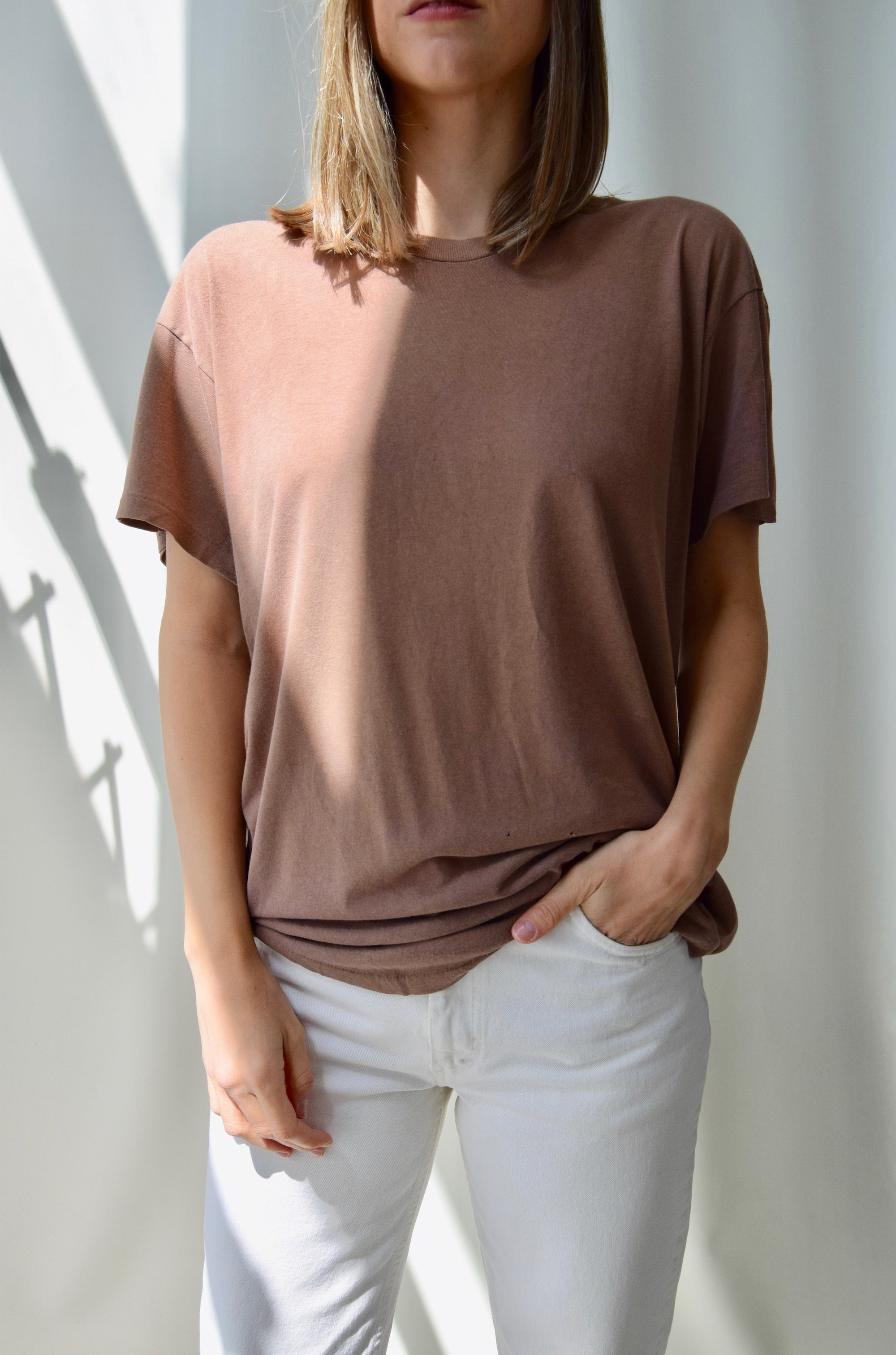 Perfectly Soft Desert Brown Tee