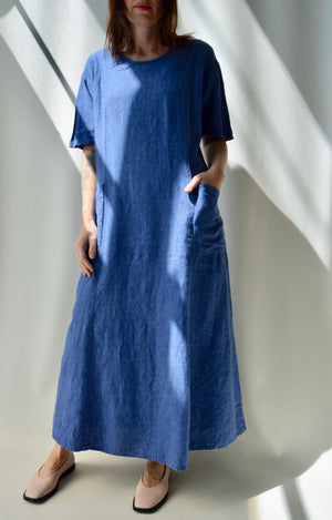 FLAX Periwinkle Maxi Dress