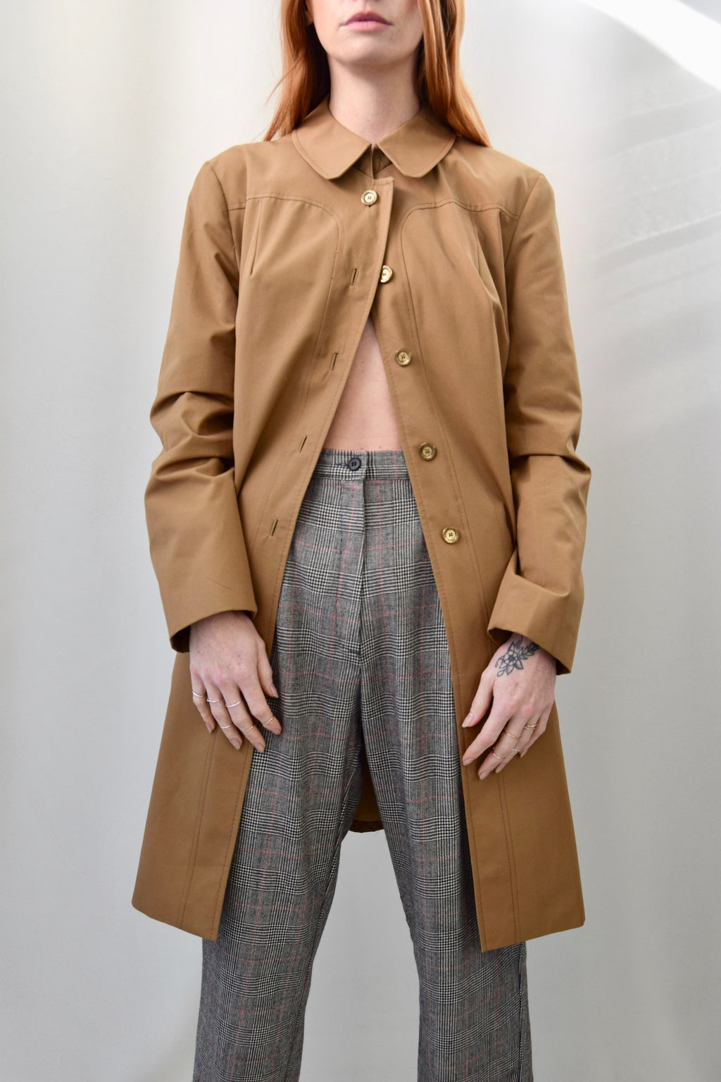 Tan Everyday Trench