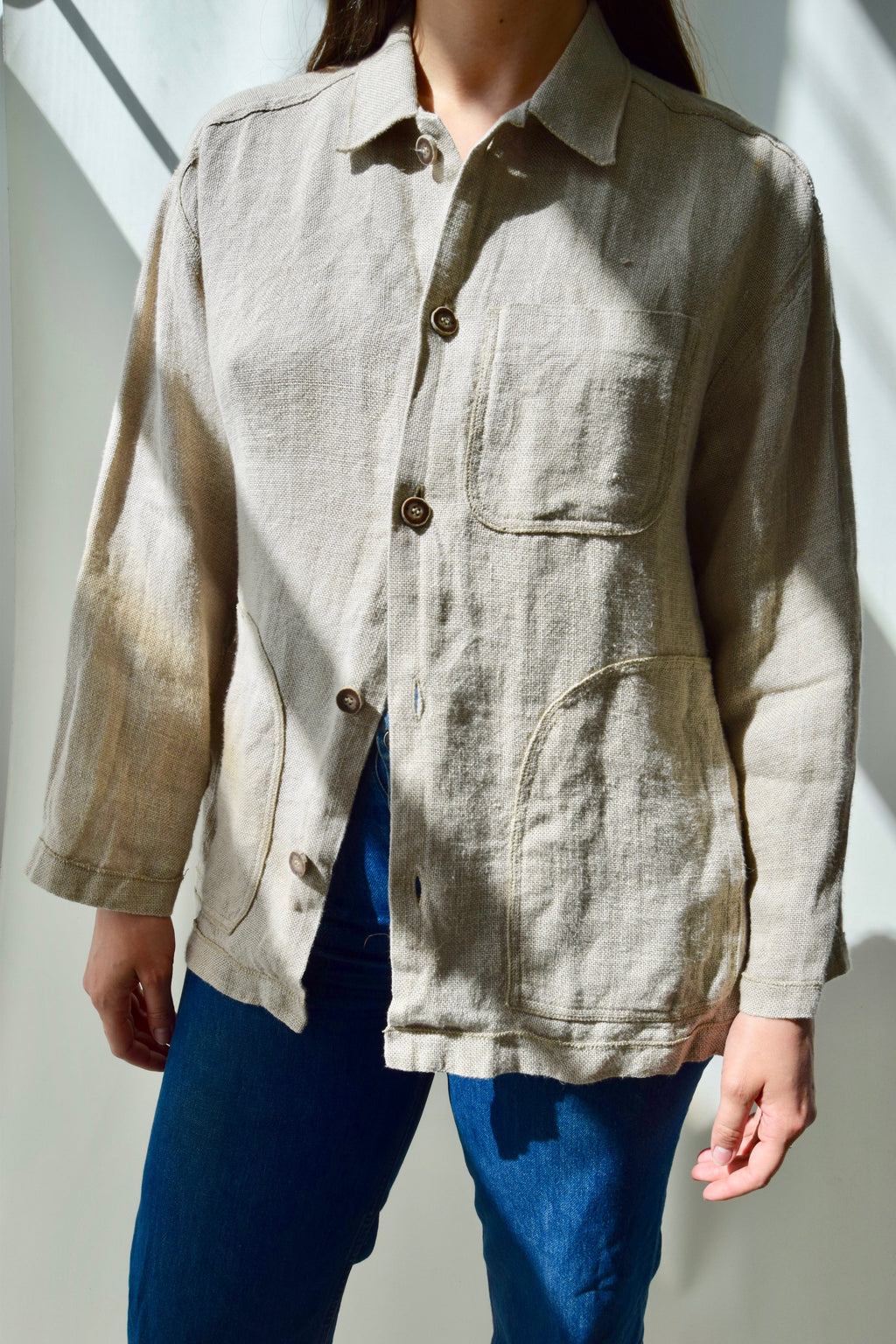 Everyday Ease Linen Spring Jacket
