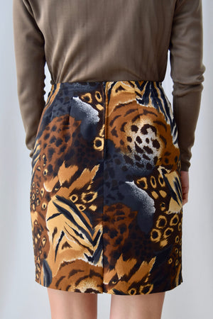 Animal Print Pizzaz Skirt