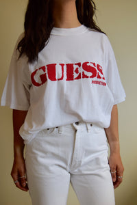 Vintage Bootleg Guess T-Shirt FREE SHIPPING TO THE U.S.