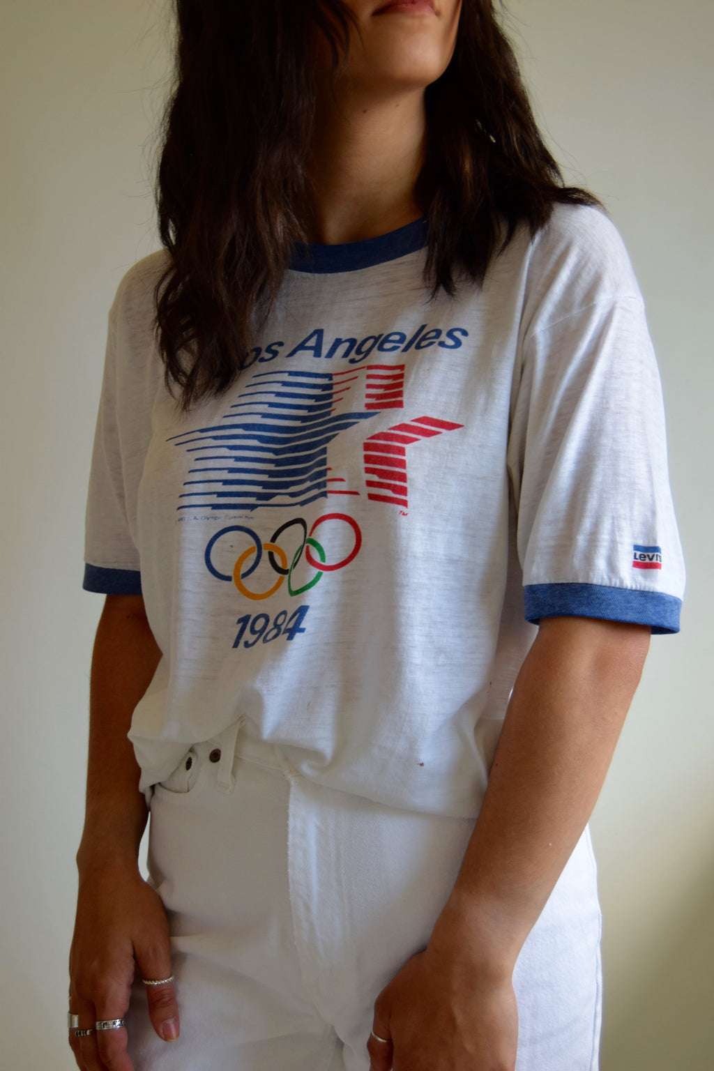 1984 Threadbare Levi's Los Angeles Olympic T-Shirt