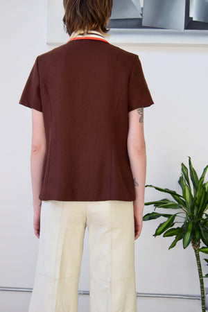 Seventies Autumnal Velma Top
