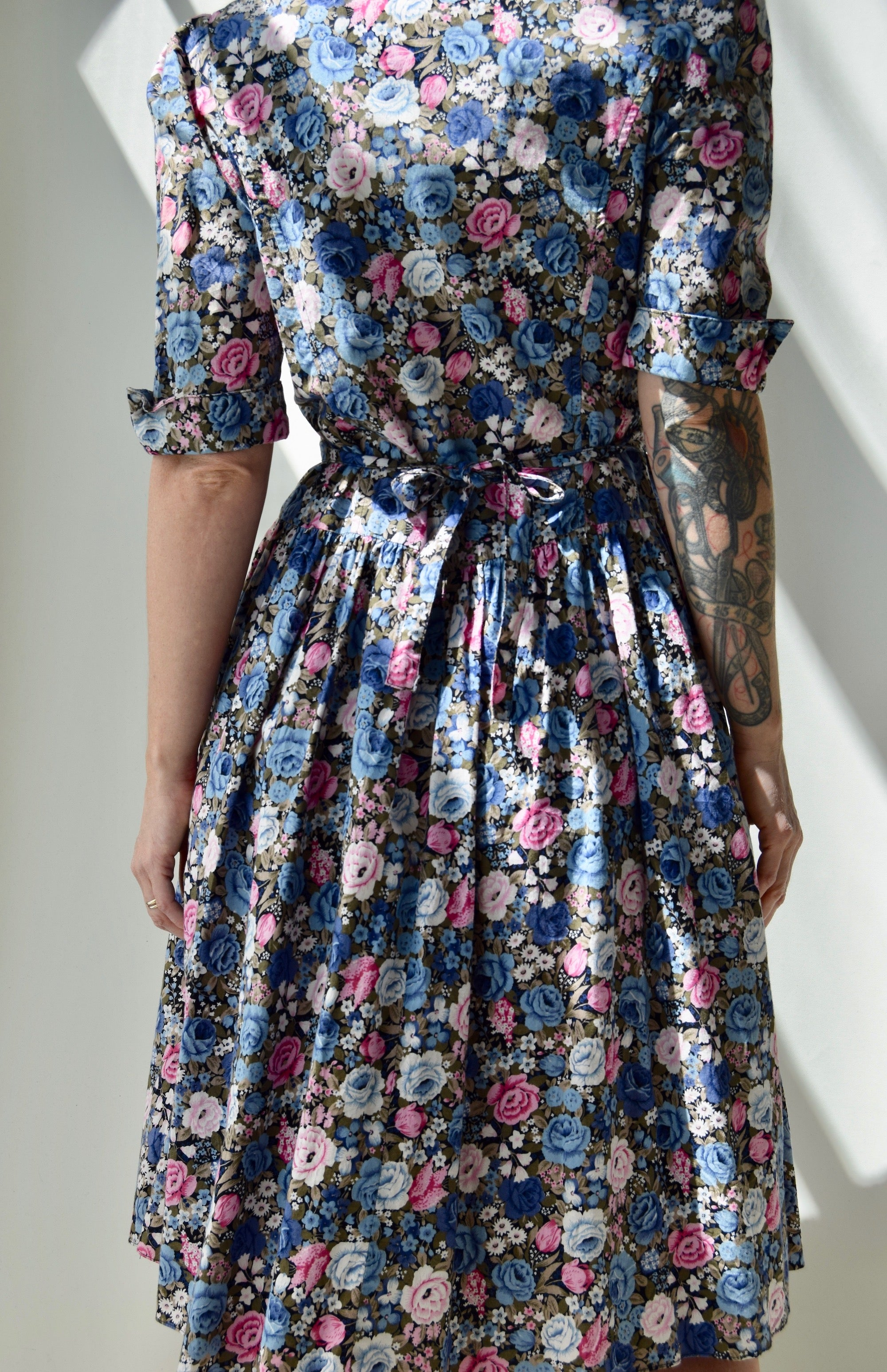 Country Romance Floral Dress