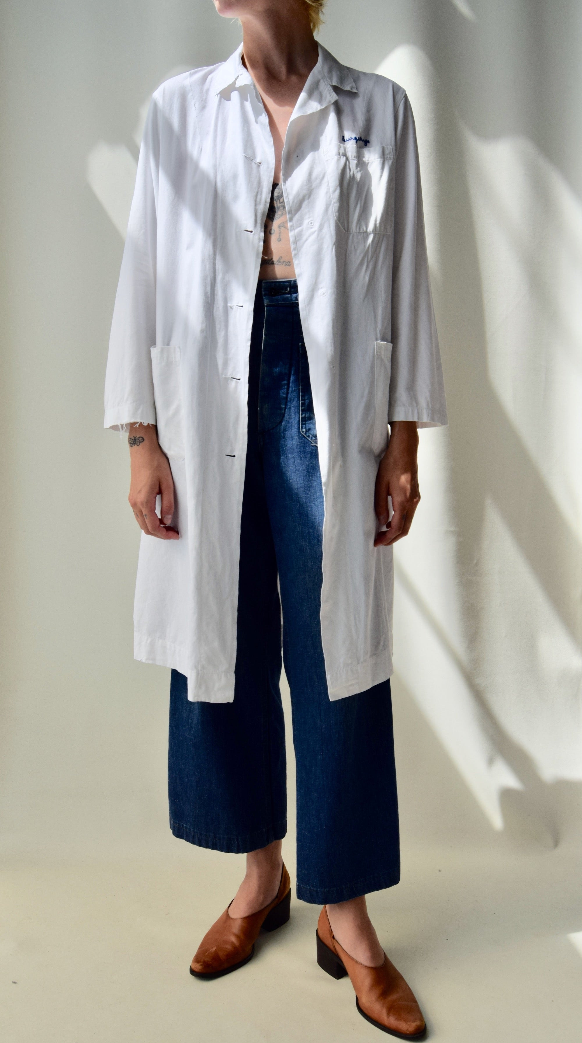 Vintage Medical Lab Coat