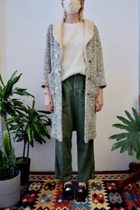 Seventies Chunky Knit Coat
