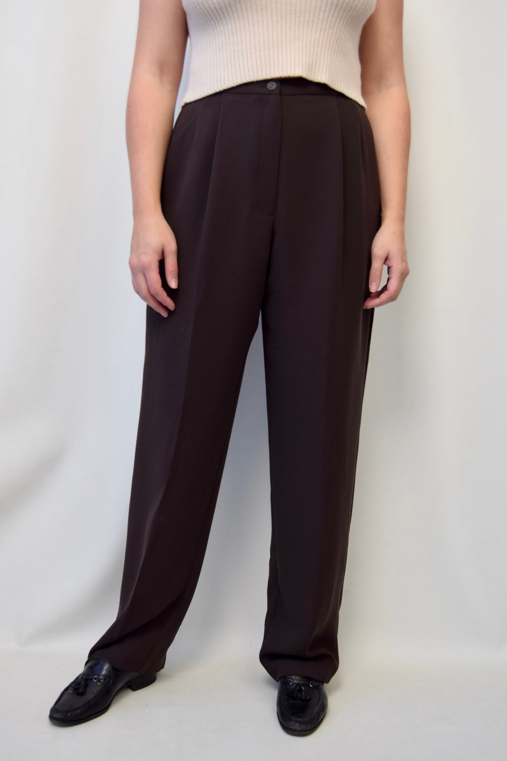 Cedar Pleated Trousers