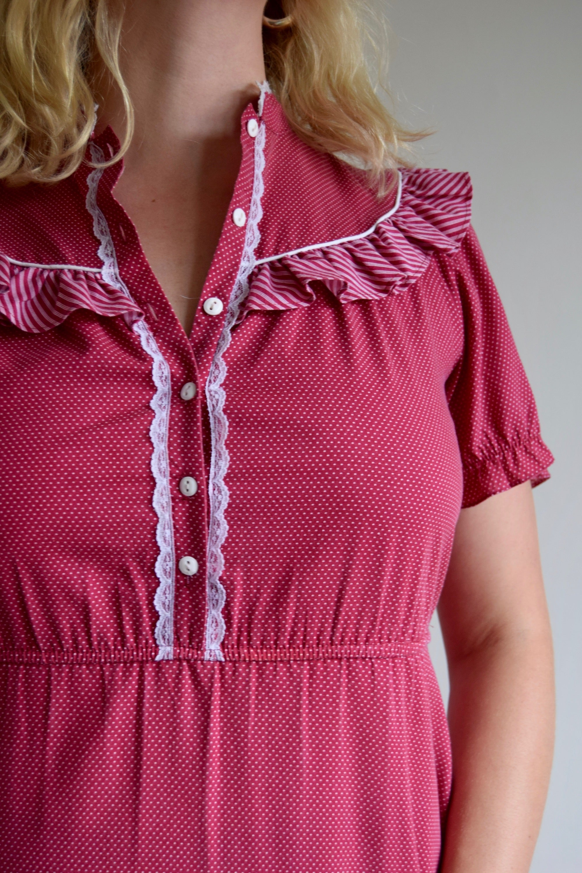 Vintage Cranberry California Country Gal Dress