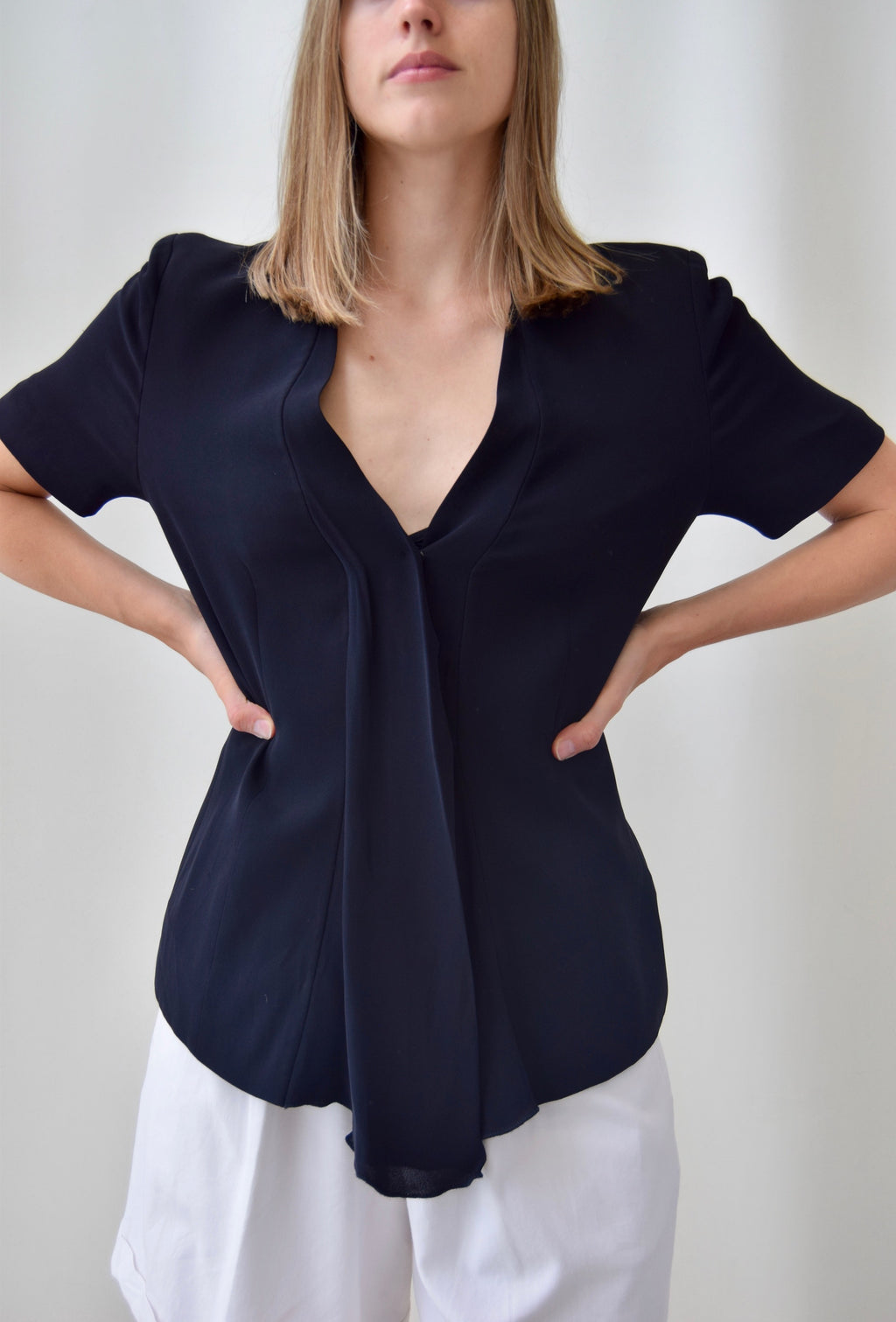 Georgio Armani Blazer Top