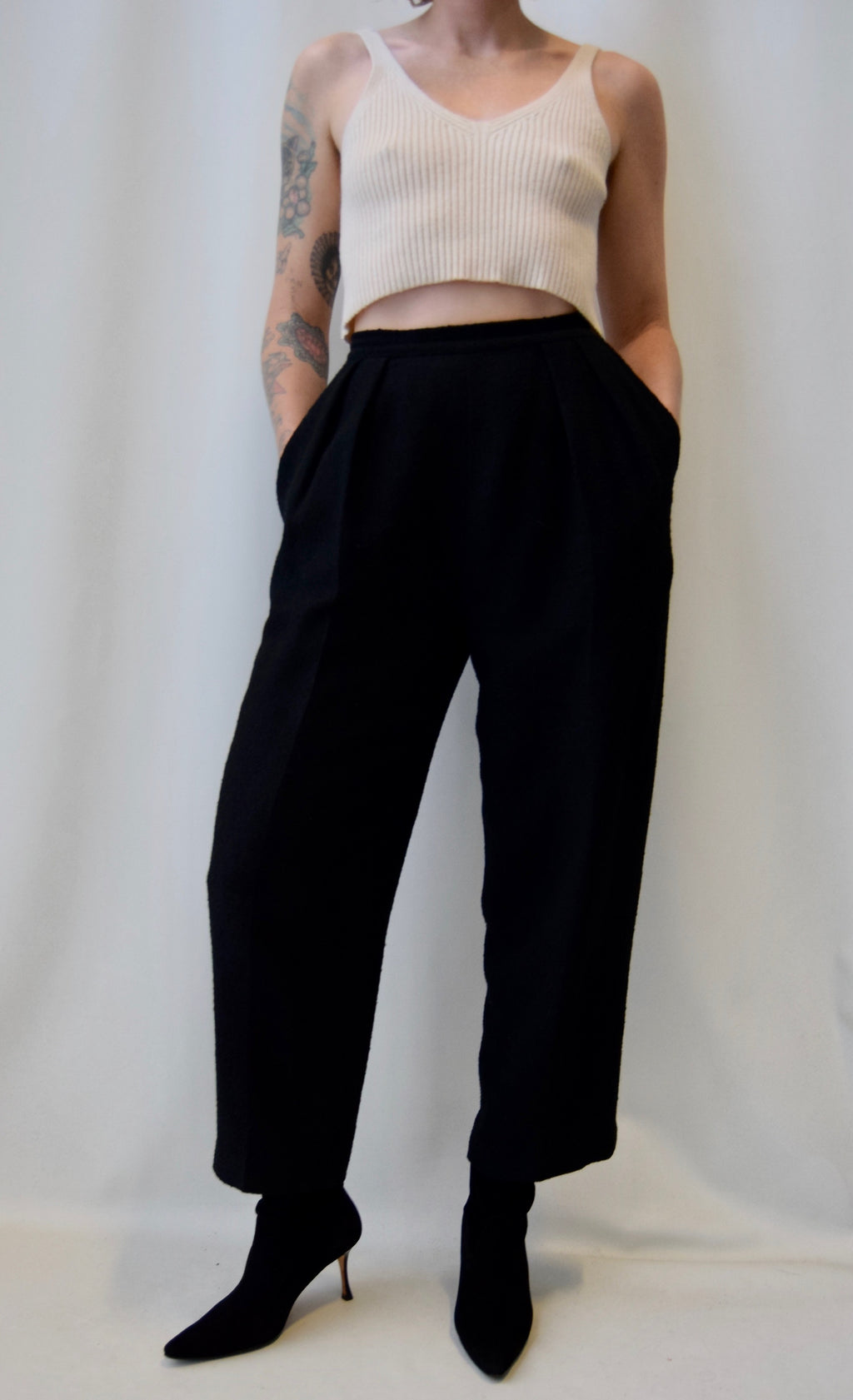 "Vintage ""Ports International"" Wool Trousers"
