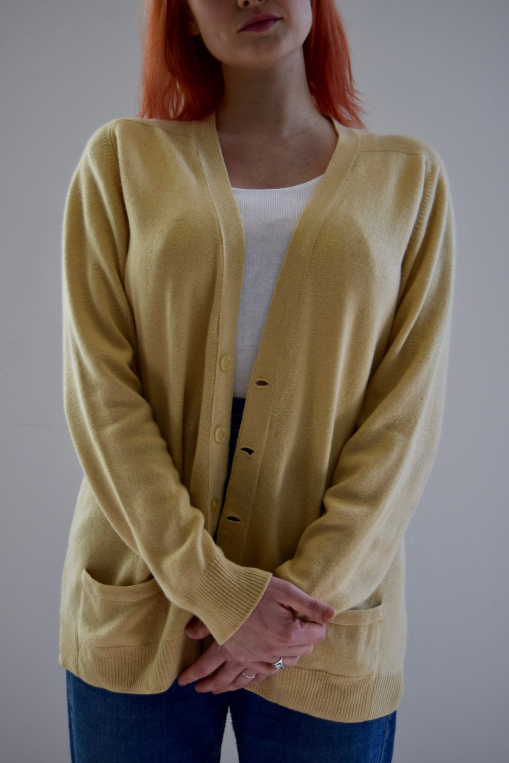 "Butter Cashmere By ""Pringle"" Cardigan Sweater FREE SHIPPING TO THE U.S."
