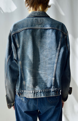 Vintage Levis Dark Wash Denim Jacket