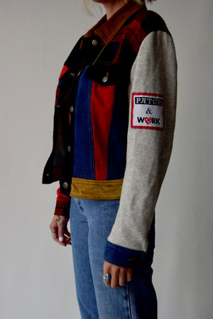 Moschino Jeans Patch and Work Jacket
