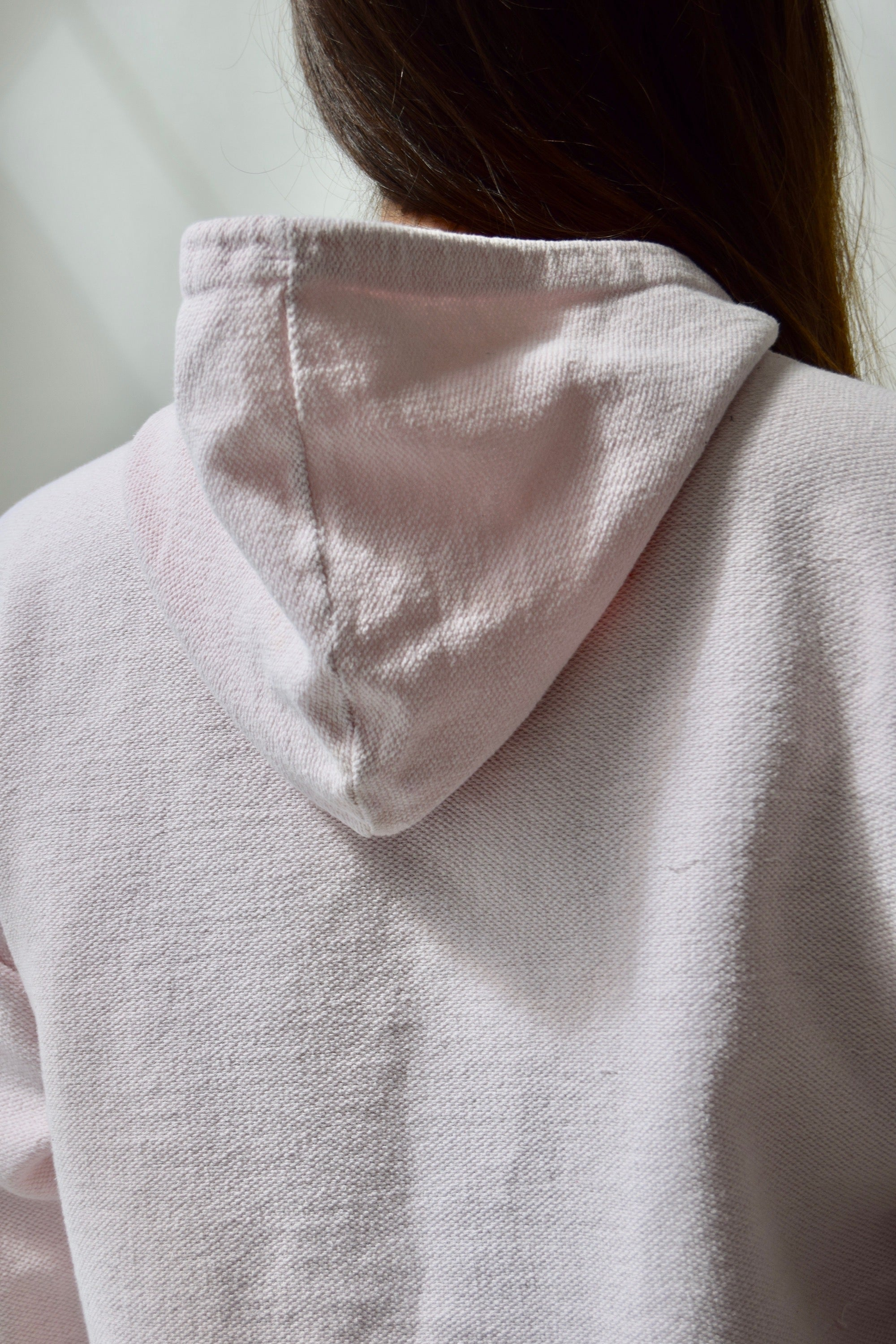 "Baby Pink ""America Perry Ellis"" Cotton Hoodie"