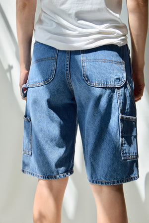 Swoosh by Nike Denim Cargo Shorts