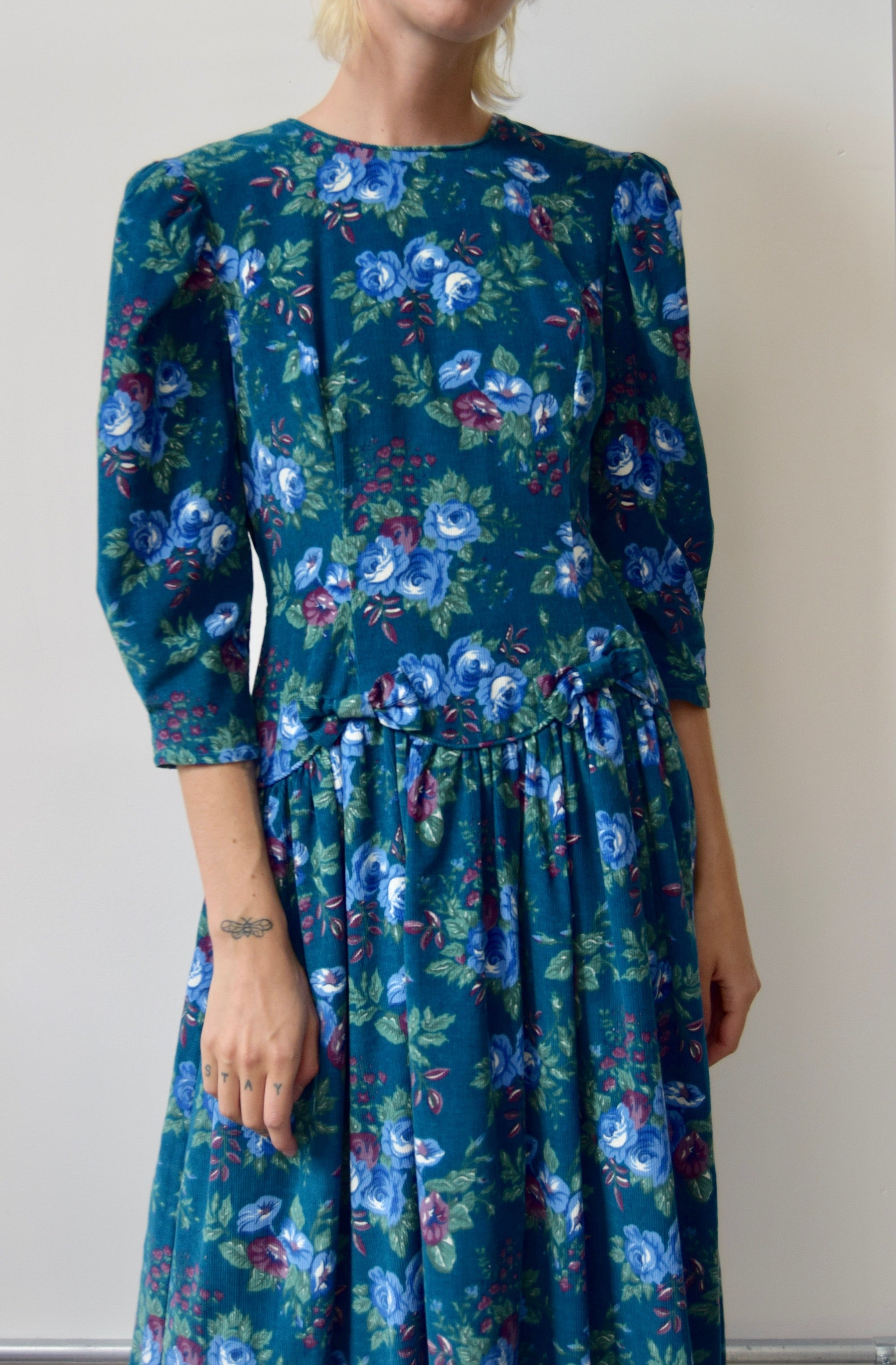 Corduroy Wallpaper Dress