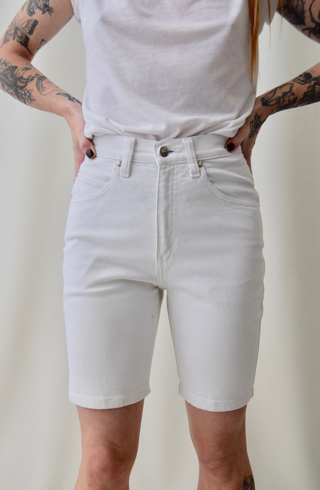 Stretchy Levis Bermuda Shorts