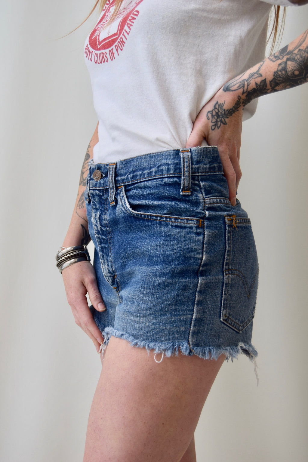 Vintage Levi's Denim Cut Offs