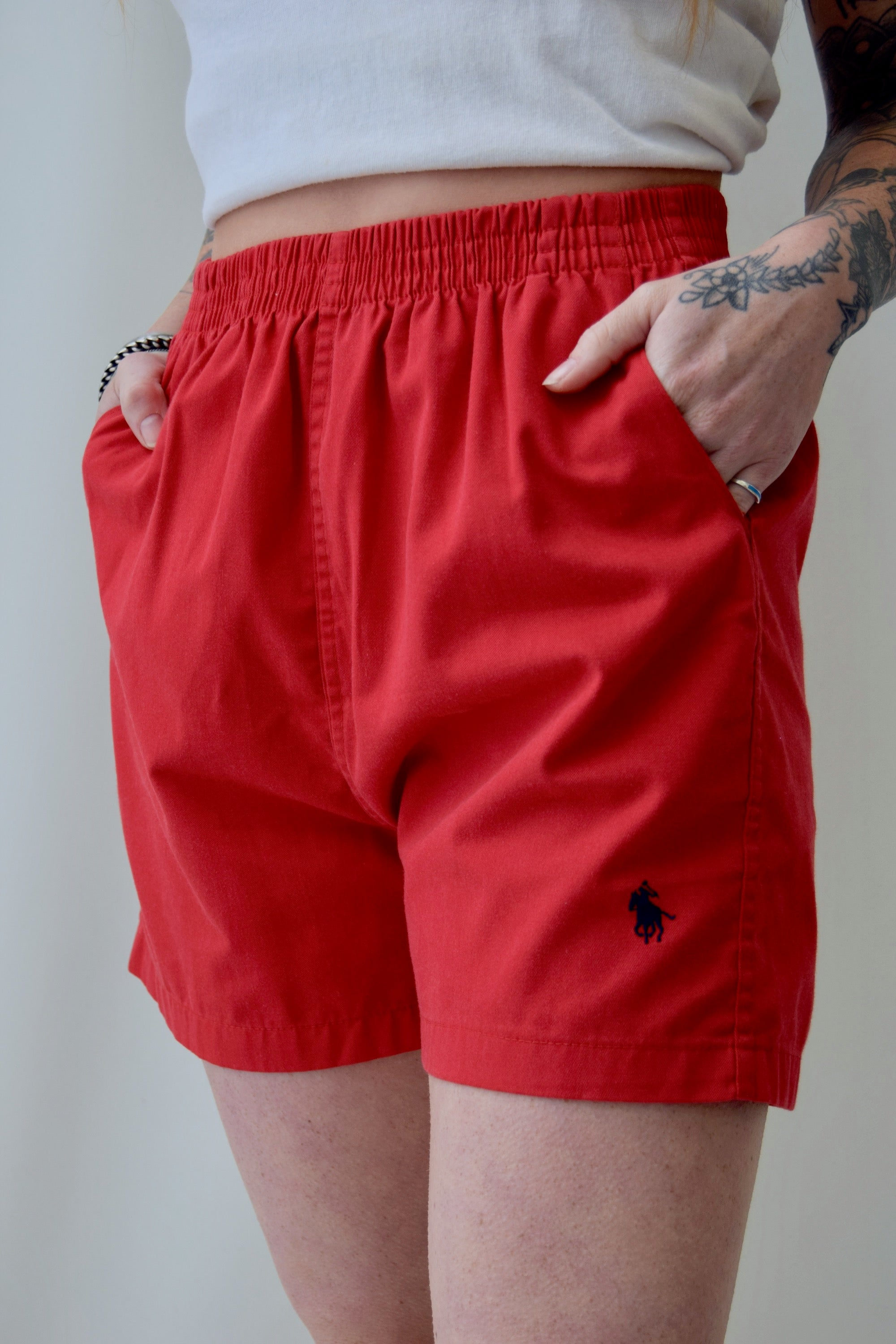 Cherry Polo Shorts