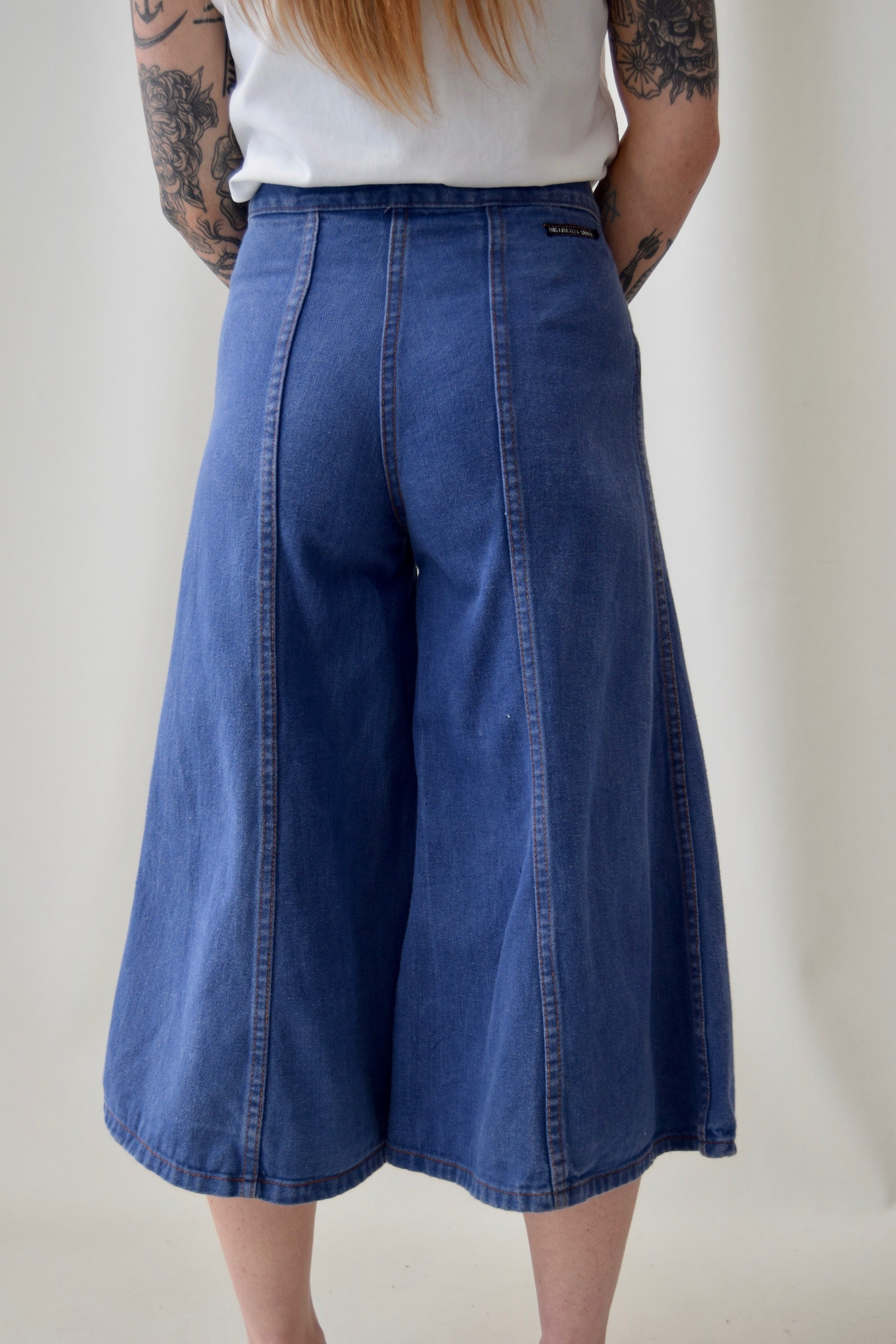 'Organically Grown' Denim Culottes