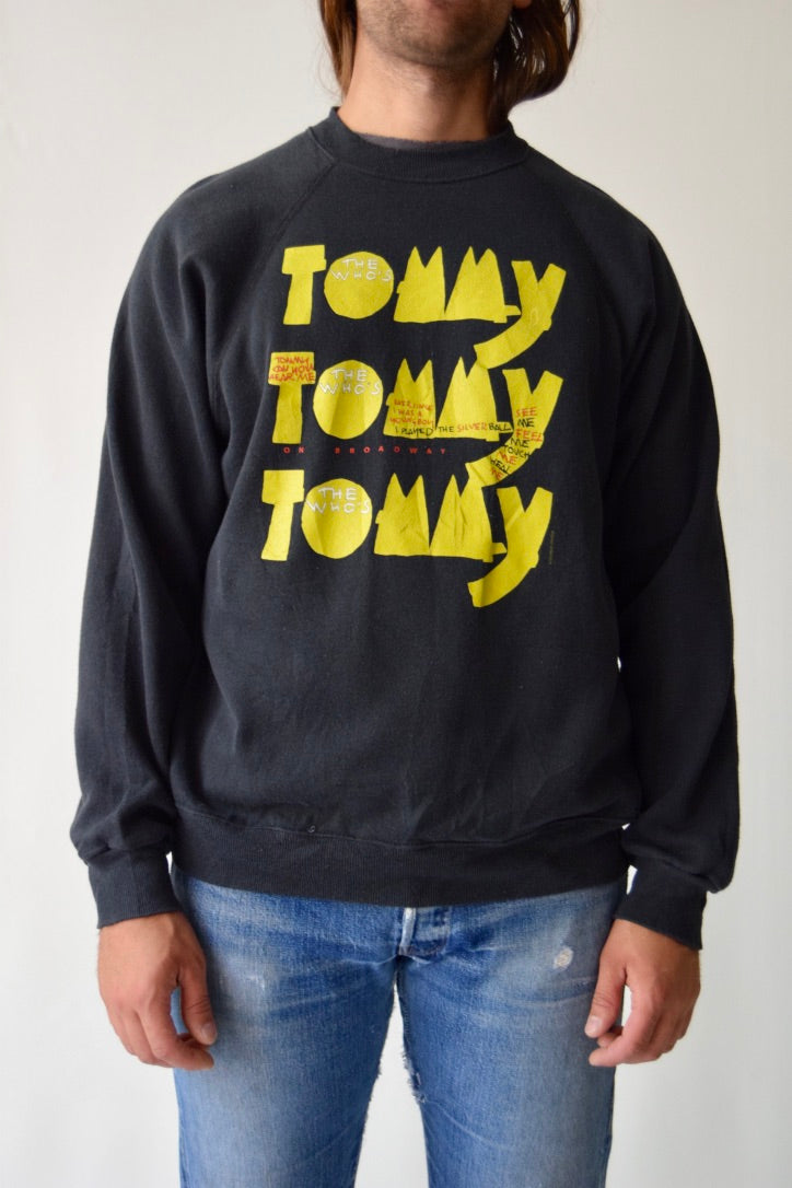 "1992 The Who's ""Tommy"" On Broadway Sweatshirt"