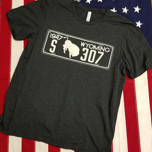 "307 ""1947"" License Plate Shirt"