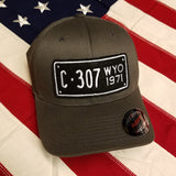 "307 ""1947 - 1974"" Motorcycle License Plate Hat *Online Only* Special Edition"