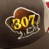 307 Painted Buffalo Logo Hat Special Edition