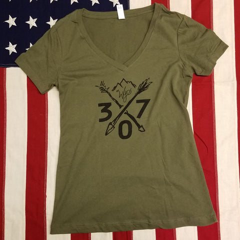 Women's 307 Arrow's  V Neck T