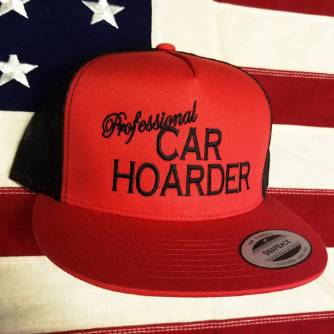Professional Car Hoarder Snapback Hat SPECIAL EDITION