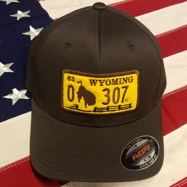 "307 ""1983 Series"" License Plate Hats"