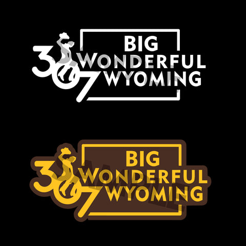 307 Big Wonderful Wyoming Decals