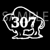 307 Buffalo Decals