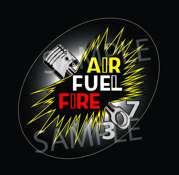 307 AirFuelFire Decal