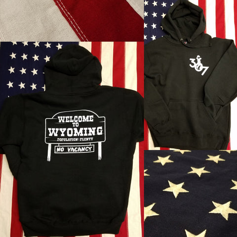 307 Welcome to Wyoming Hoodie