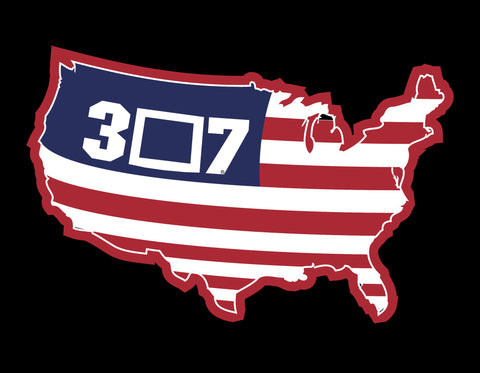 307 Nation Decal