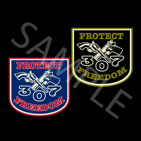 307 Protect Freedom Decals