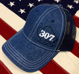 307 Buffalo Denim Adjustable Hat