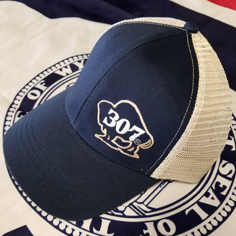 307 Buffalo Mesh Back Hat