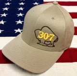 307 Buff Puff Flexfit Hats