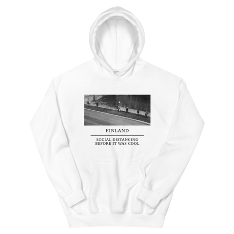 SOCIAL DISTANCING BEFORE IT WAS COOL HOODIE