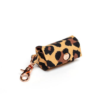 leopard pattern poop bag