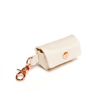simple ivory poop bag dispenser