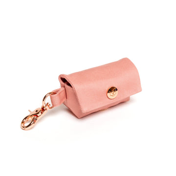 rose pink poop bag dispenser