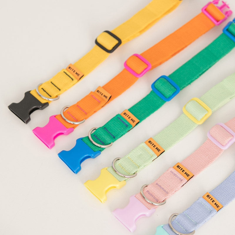 Candy Crayon Dog Collar in 6 colors